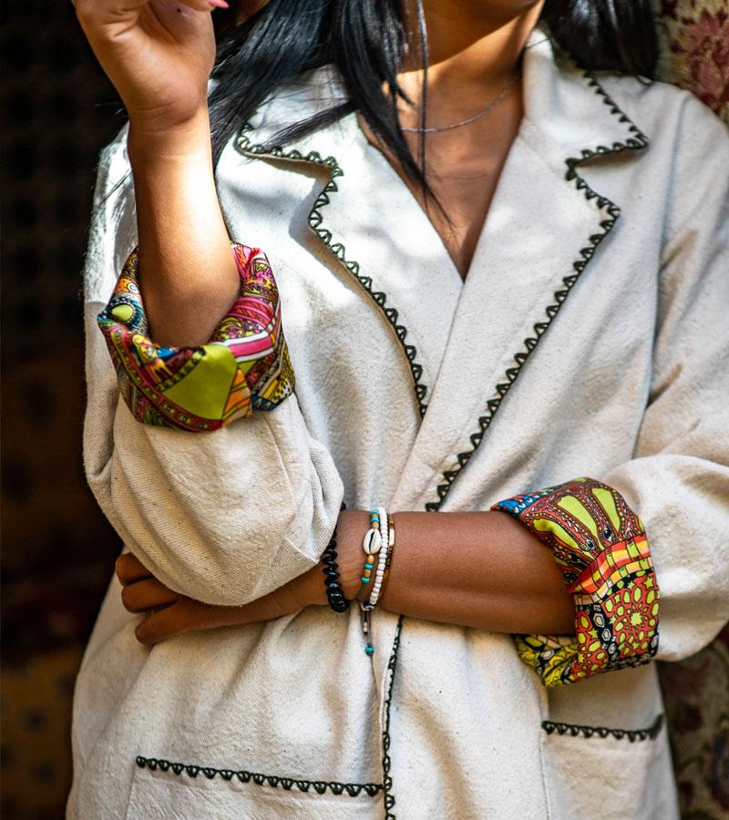 Kimono long en kiriya